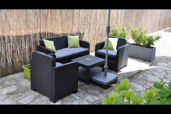 Salon de jardin - Location de vacances -