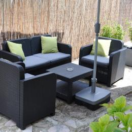 Salon de jardin - Location de vacances - Charly-sur-Marne