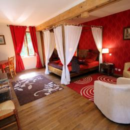 Chambre pour 2 avec baignoire pour 2 - Chambre d'hôtes - Fontaine-lès-Vervins