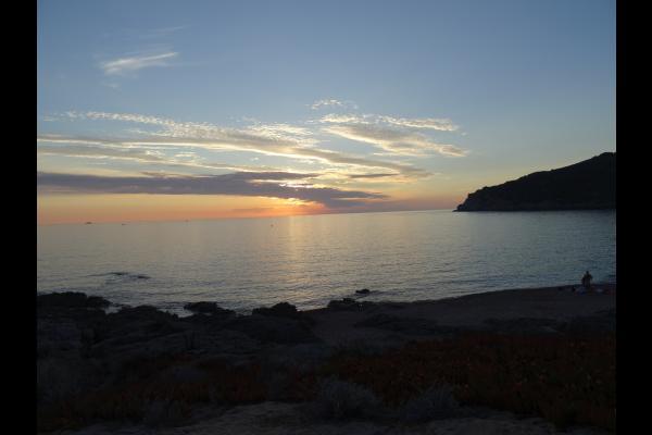 Coucher de soleil sur le golfe  - Location de vacances - Appietto