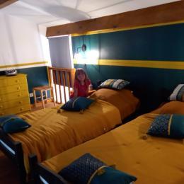 MEZZANINE 2 LITS 90 - Location de vacances - Serra-di-Ferro