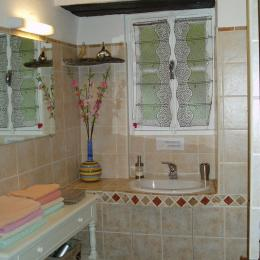 salle d'eau  - Chambre d'hôtes - Santa-Maria-di-Lota