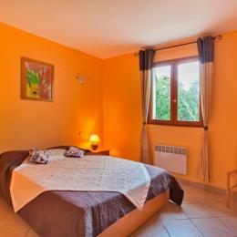 Chambre étage - Location de vacances - Pietracorbara