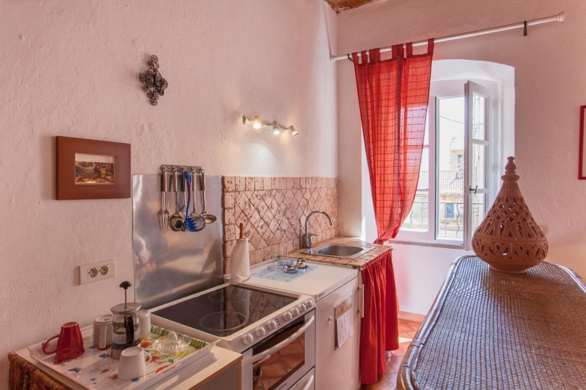 cuisine  - Location de vacances - L'Île-Rousse