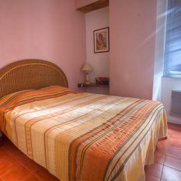 chambre matrimoniale - Location de vacances - Ersa