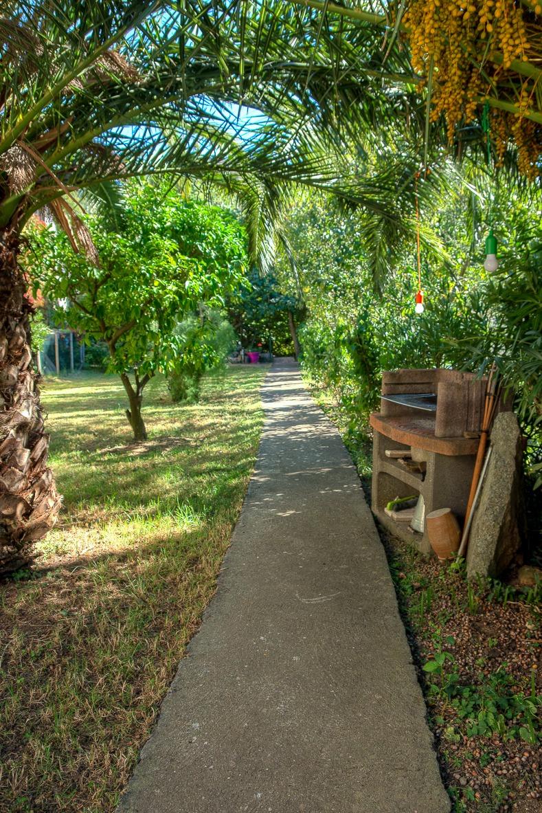 Accès - Jardin privatif - Location de vacances - Oletta