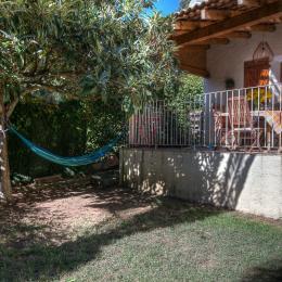Terrasse - Jardin privé - Location de vacances - Oletta