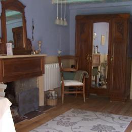 La Suite sous les Etoiles: Le salon  - Chambre d'hôtes - Castirla