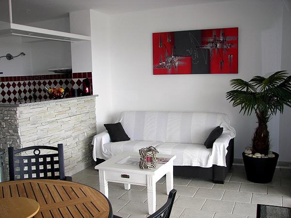 sal/sej - Couchage DIVA - Location de vacances - L'Île-Rousse