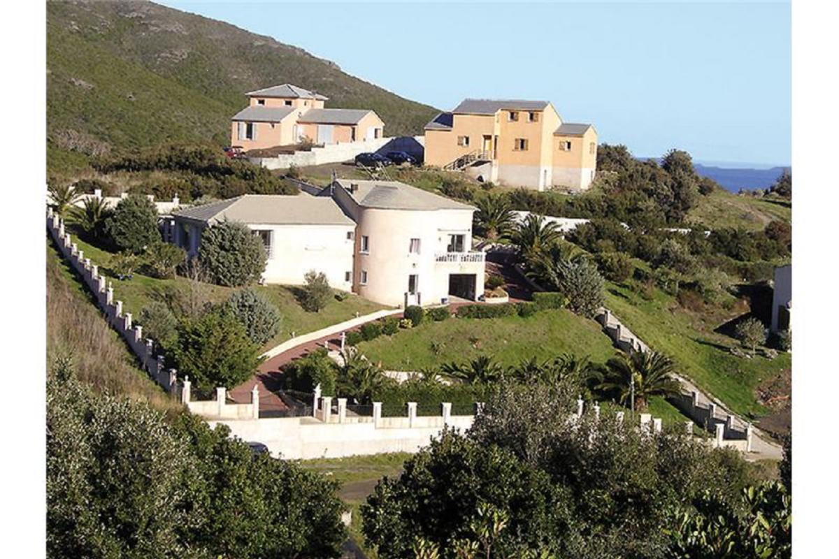 Vue aérienne - Location de vacances - Sisco