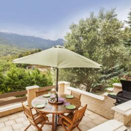 Terrasse plein sud - Location de vacances - Sisco