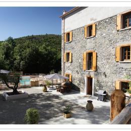 gîte du Tilleul rez de chaussée de plein pied avec la piscine - Location de vacances - Pietroso
