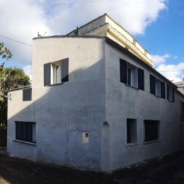 Vue exterieure de la batisse fin XIXe entièrement rénovée - Location de vacances - Luri