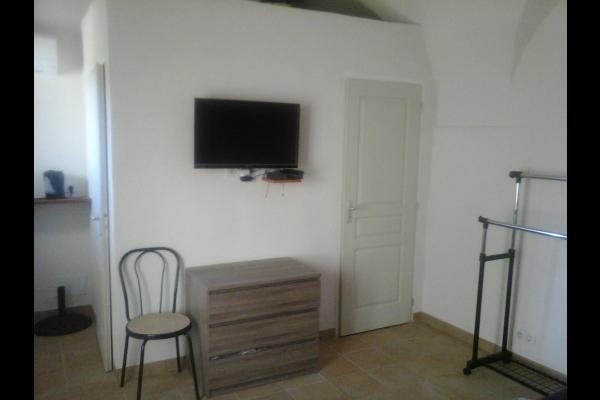 télévision - Chambre d'hôtes - Belgodère