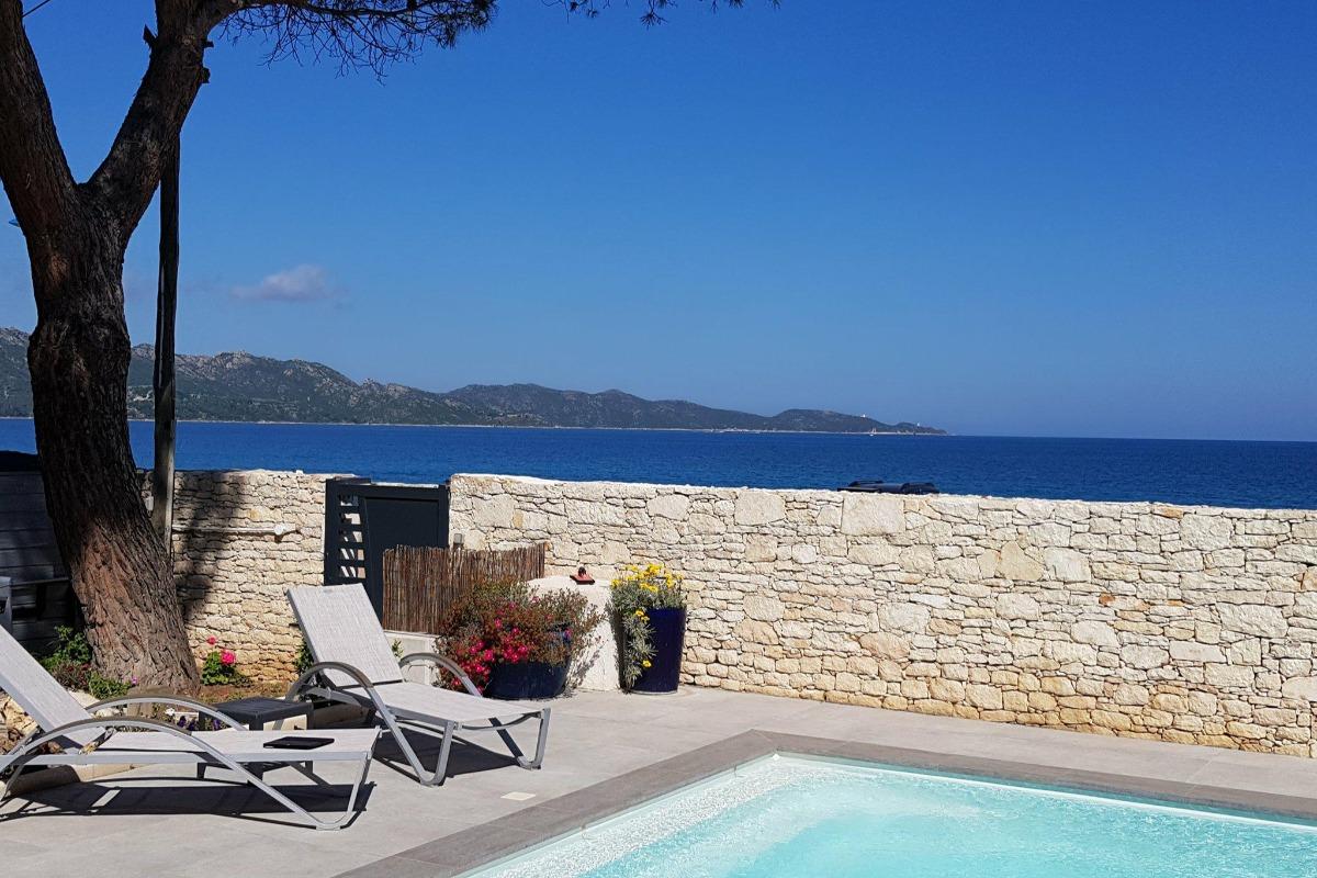 piscine chauffée - Location de vacances - Saint-Florent