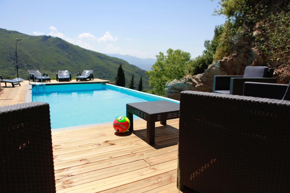 Piscine - Location de vacances - Barbaggio
