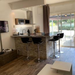 Salon, TV, cuisine, SAT, internet, jardin... - Location de vacances - Borgo