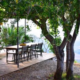 Terrasse Extérieure  - Location de vacances - Piève