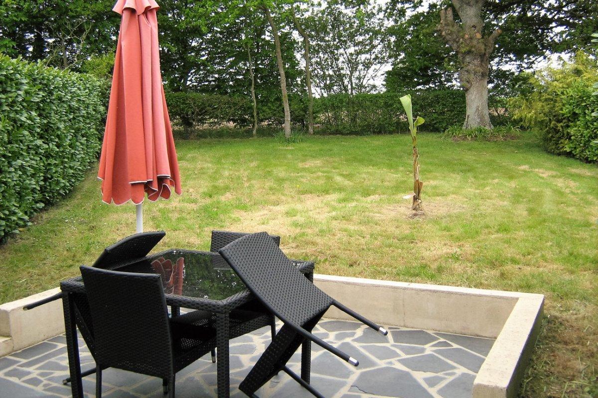 terrasse - Location de vacances - Pluduno