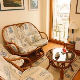chambre 2 lits simples - Location de vacances - Pléneuf-Val-André