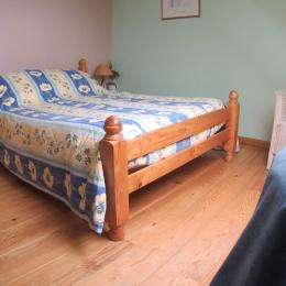 chambre 1 lit double - Location de vacances - Pléneuf-Val-André