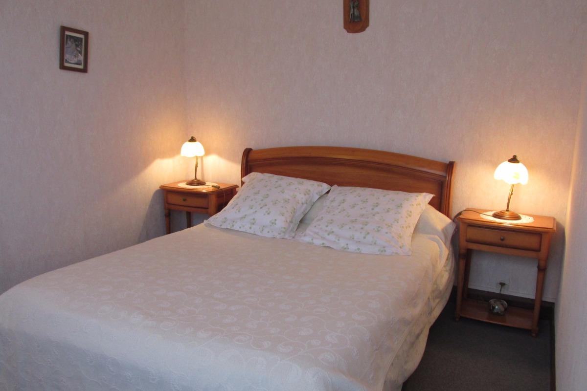 Chambre lit 140 - Location de vacances - Pléneuf-Val-André
