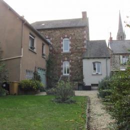 En haut à gauche - La location pour 2 personnes dans le bourg de Pléneuf - Location de vacances - Pléneuf-Val-André