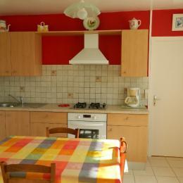 chambre lit 140 - Location de vacances - Loc-Envel