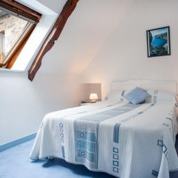 la chambre à 2 lits de 90cm - Location de vacances - Ploubazlanec