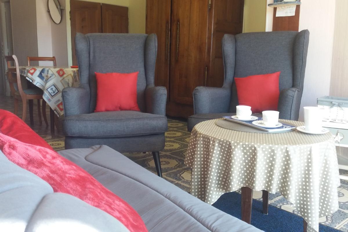 salon côté terrasse SUD - Location de vacances - Saint-Jacut-de-la-Mer