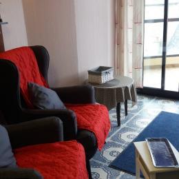 salon côté TV - Location de vacances - Saint-Jacut-de-la-Mer