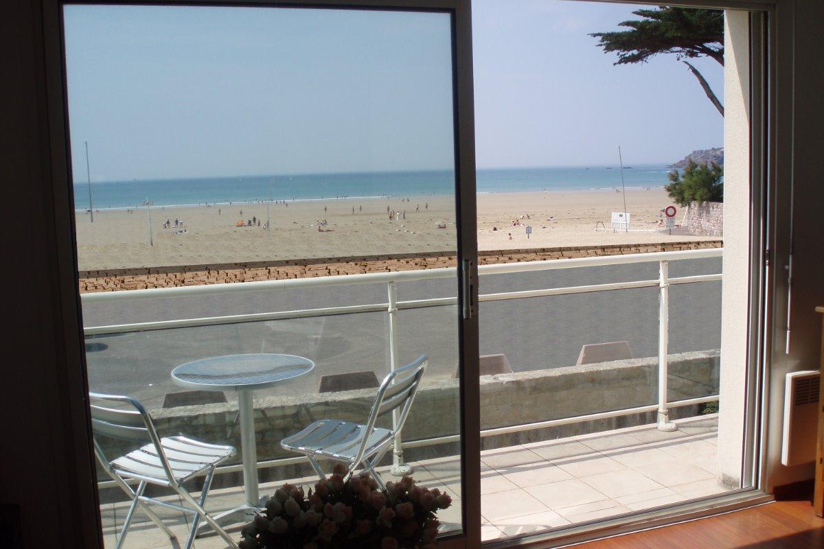 Vue du salon  - Location de vacances - Erquy