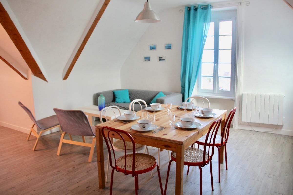Séjour Cuisine - Location de vacances - Saint-Cast-le-Guildo