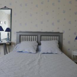 Chambre triple bleue - Chambre d'hôtes - Morieux