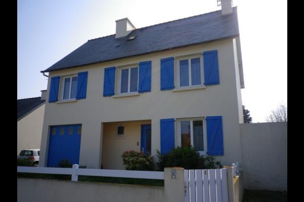 Location - Baie de Saint-Brieuc - Facade côté rue - Location de vacances - Saint-Brieuc