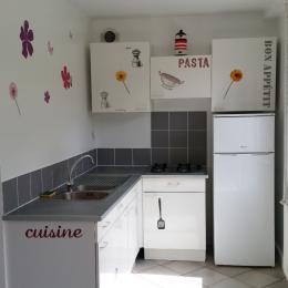 Coin cuisine - Location de vacances - Saint-Brieuc