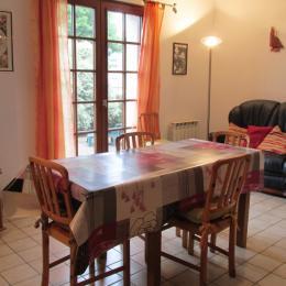 Le séjour-salon du RDC - Location de vacances - Binic