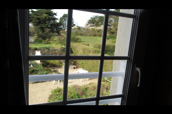 Perennes, location, Trégastel, vue de la chambre - Location de vacances - Trégastel