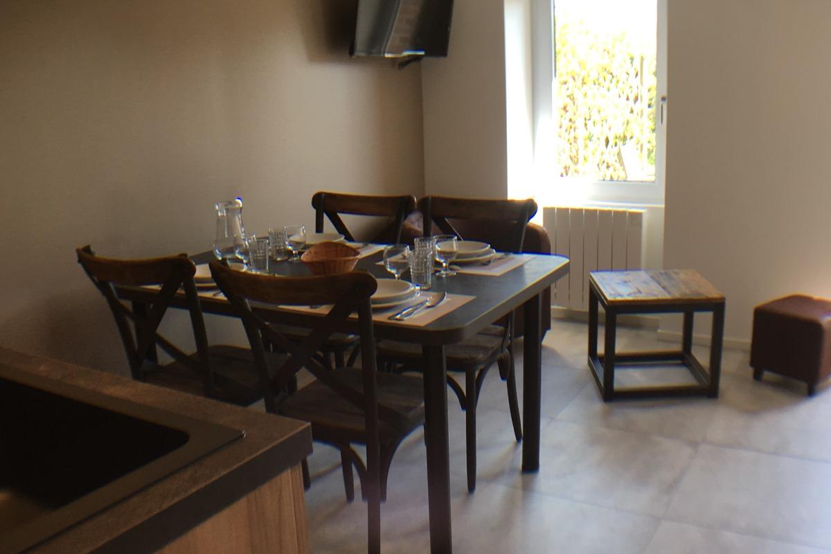 Résidence de la Carquois Fréhel gîte n°9 séjour - Location de vacances - Fréhel