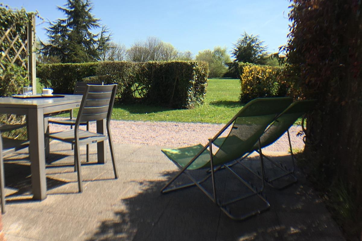 Résidence de la Carquois Fréhel terrasse - Location de vacances - Fréhel