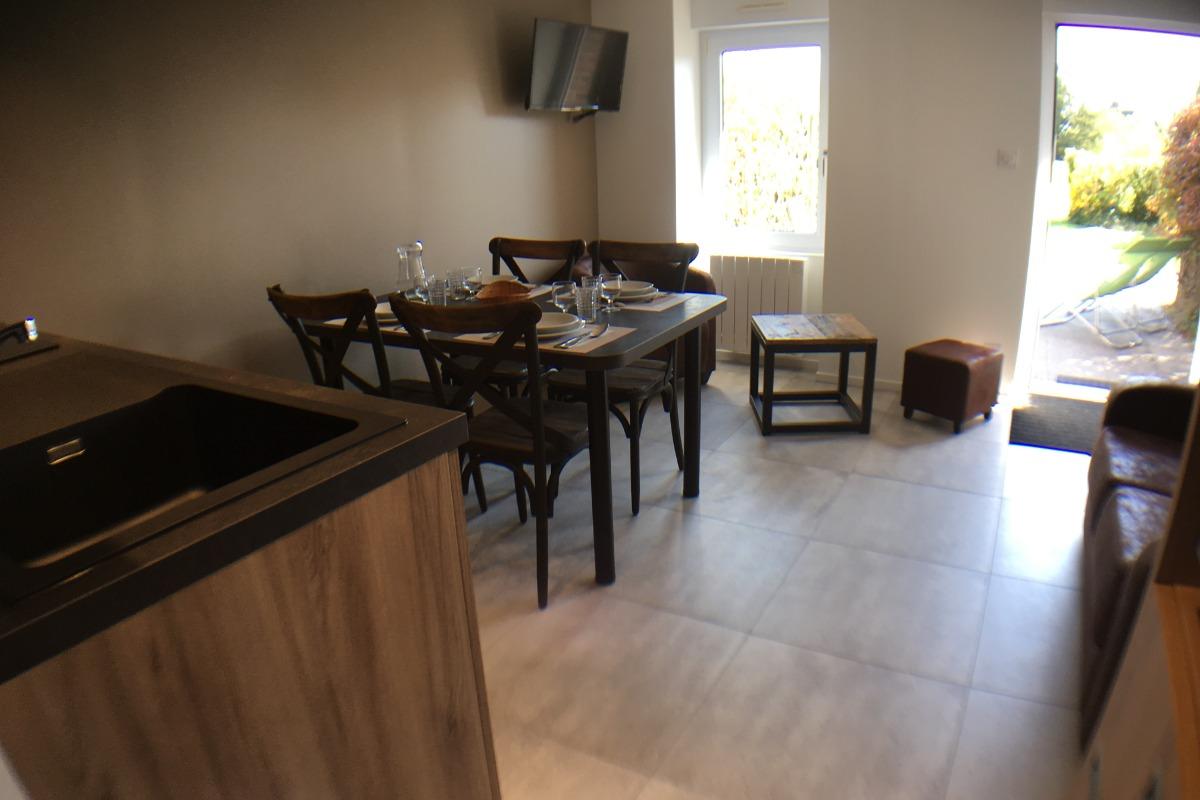 Résidence de la Carquois Fréhel gîte n°1 séjour - Location de vacances - Fréhel