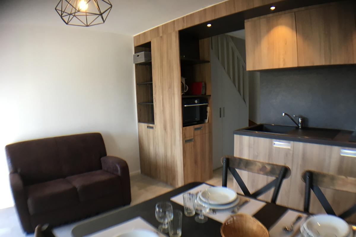 Résidence de la Carquois Fréhel gîte n°4 séjour - Location de vacances - Fréhel