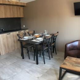 Résidence de la Carquois séjour - Location de vacances - Fréhel
