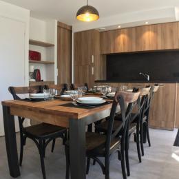 Résidence de la Carquois Fréhel gîte n°13 cuisine - Location de vacances - Fréhel