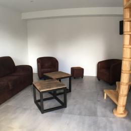 Résidence de la Carquois Fréhel gîte n°13 salon - Location de vacances - Fréhel