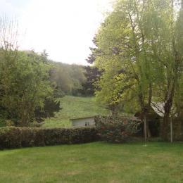 vue du chalet - Location de vacances - Plérin
