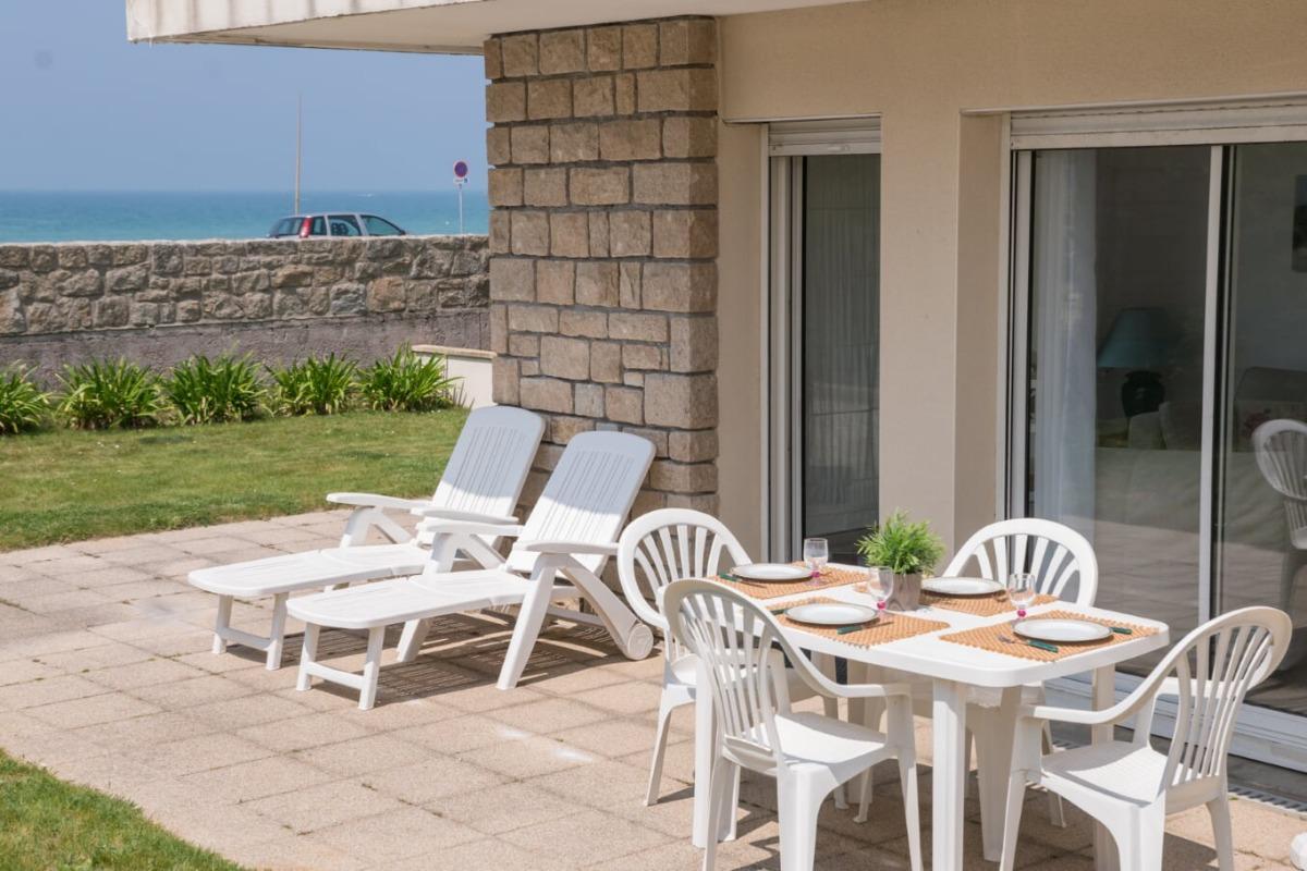 Salon-Cuisine - Location de vacances - Erquy