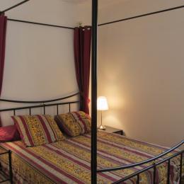 Chambre avec lit 140 et un couchage supplémentaire. - Location de vacances - Erquy