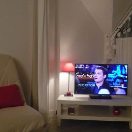 TV avec prise USB+ LiveBox et Wifi - Location de vacances - Perros-Guirec