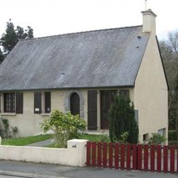 Résidence/entrée/garage - Location de vacances - Ploulec'h